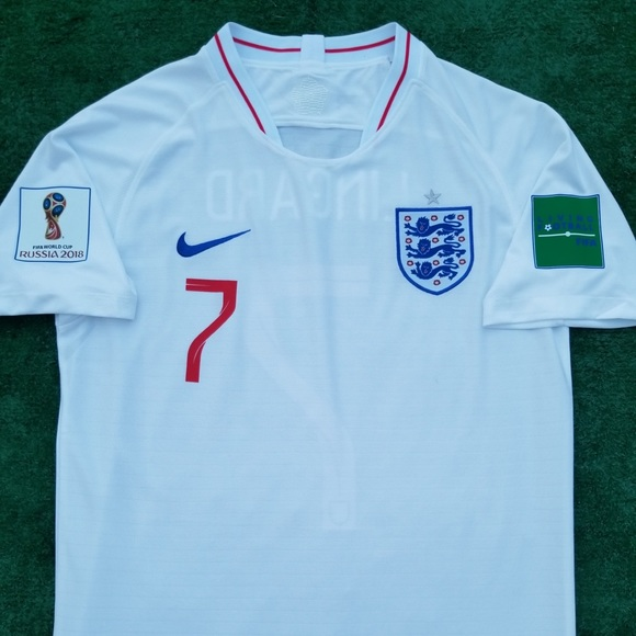 super popular 71198 bf0ce 2018 England soccer jersey Lingard NWT